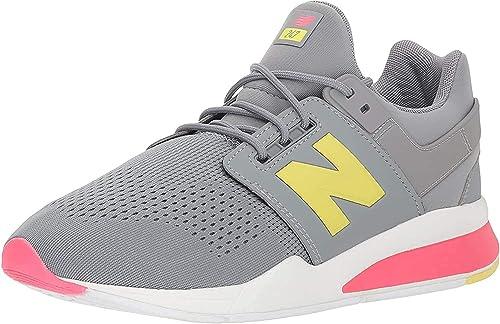 New Balance Sneakers 247 Grigio Gialla Rosa KL257TIG (40 - Grigio ...