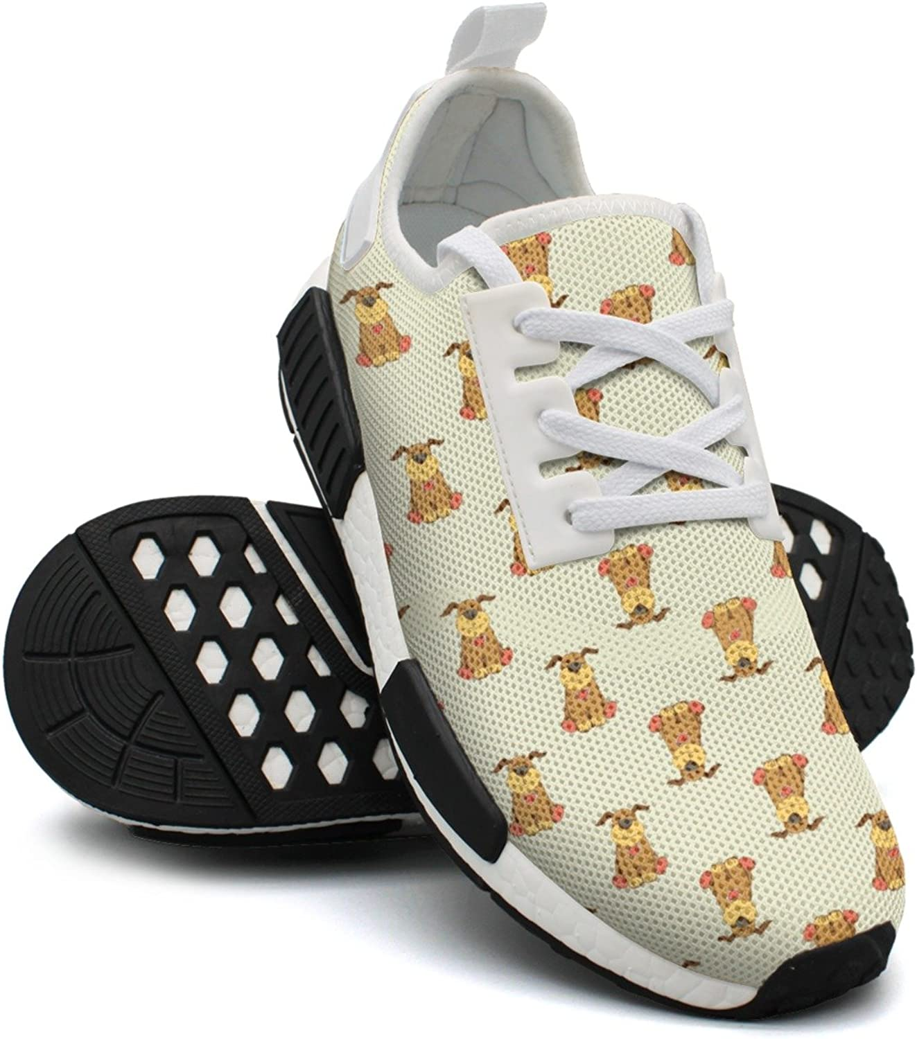 Cartoon Dog Women's Casual Lightweight Basketball Sneakers Gym Outdoor Walking shoes