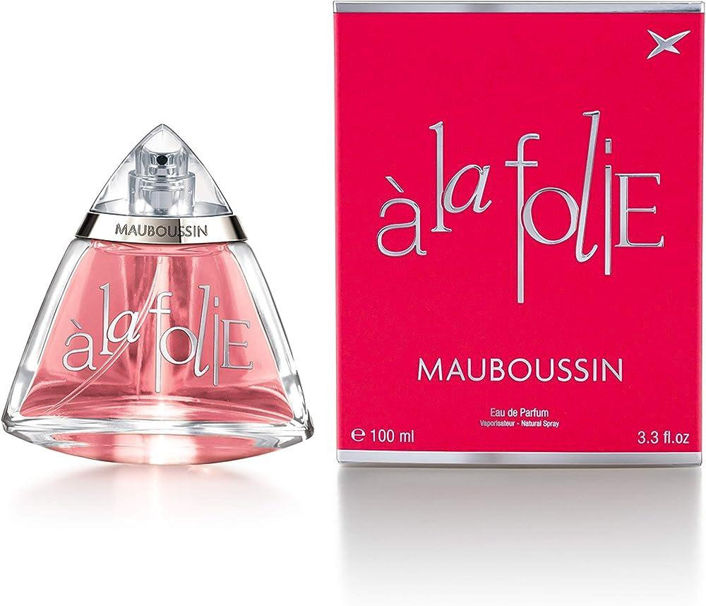 Mauboussin - eau de parfum donna - a la folie - fragranza fiorientale - 100ml MAB00004