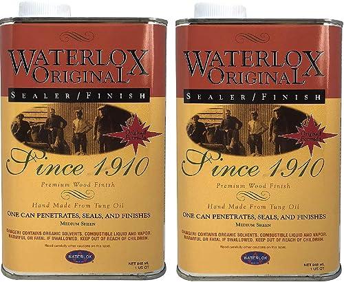 Waterlox 5284qt TB5284 Stain - Тwо Рack
