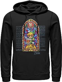 Nintendo Men's Legend of Zelda Stained Glass Hoodie