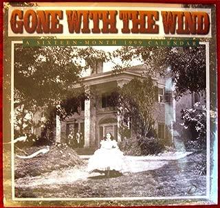 Cal 99 Gone With the Wind Calendar: A Sixteen-Month Calendar