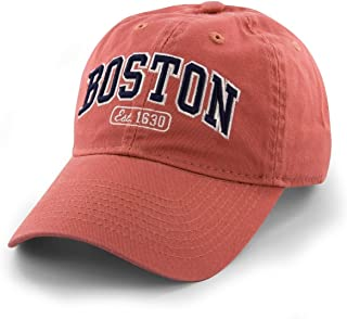 Boston Arch Pastime Adjustable Hat - Cape Cod Red