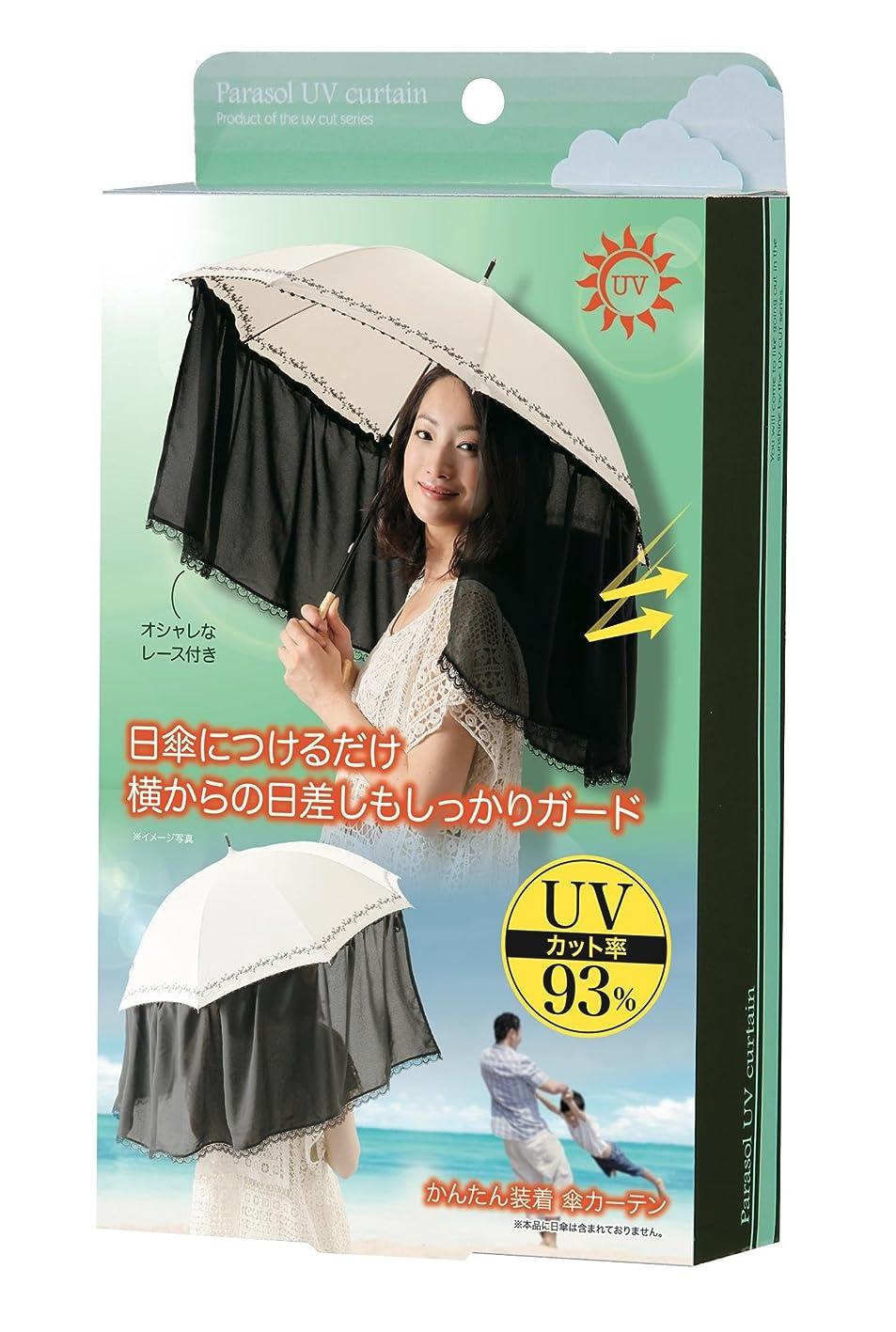 乱れ外側ブラインドかんたん装着 傘カーテン