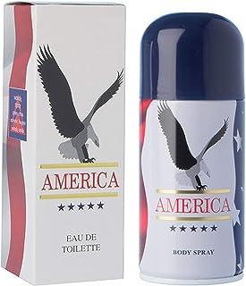 America By Milton Lloyd (America 50 ML + America 150 ml Body spray)