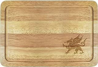 Azeeda 'Welsh Dragon' Wooden Chopping Board (WB00005118)