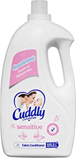 Cuddly Concentrate Fabric Softener Conditioner Sensitive Made in Australia, 2L