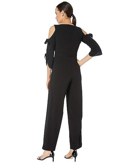 7e6d8c6a362 Donna Morgan Long Tie Sleeve Wide Leg Jumpsuit at Zappos.com