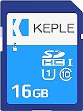 Keple 16GB Tarjeta de Memoria SD Card | Clase 10 SD Memory Card Compatible con Nikon Coolpix S6500, S5200, S9500, S3500, S3600, S5300 SLR Camara | 16 GB UHS-1 U1 Class 10 SDHC
