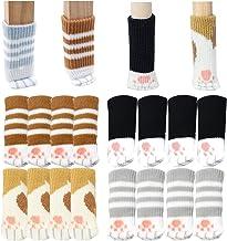 Liuer 32 STKS Stoelpoten Vloerbeschermers, Stoelpoten Voeten Sokken Covers Antislip Meubels Voetkussens voor meubels,Voork...