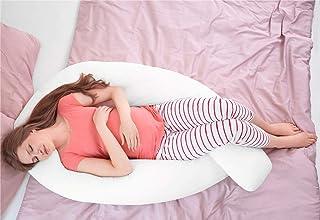 Hometex Almohada de Maternidad, polialgodón, Blanco, 3,6 m