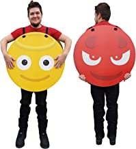 Angel/Devil Emoji Costume - Advanced Graphics Cardboard Costume