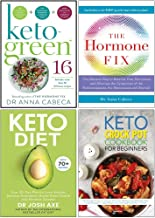 Keto-Green 16, The Hormone Fix, Keto Diet, The Keto Crock Pot Cookbook For Beginners 4 Books Collection Set