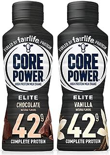 Core Power Elite High Protein Milk Shake 2 Flavor Pack (12 Bottles)