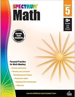 Spectrum   Math Workbook   Grade 5, Printable