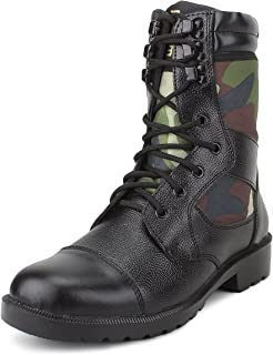 Armstar Men's Leather Combat Boots
