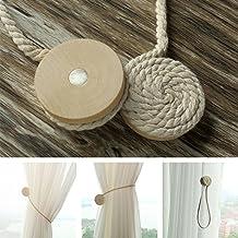 PERIWIN Mode Moderne h/émisph/érique Support magn/étique pour Pince /à Rideau Embrasse Home Decor