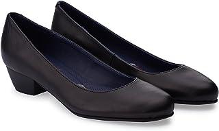 Oneflex Escarpins de Travail Mod. Lea Colour Noir - Chaussures Confortables pour Femme