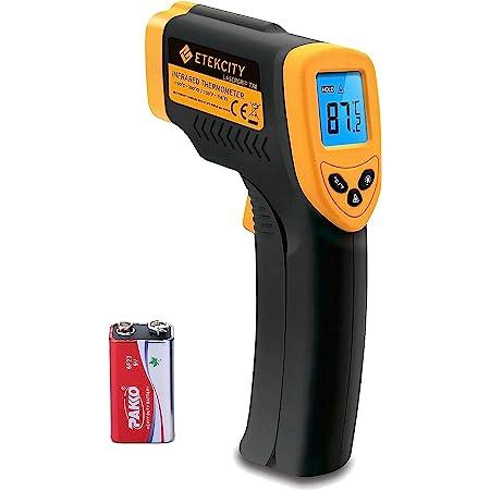 Xcellent Global Kontaktfreies Infrarot Thermometer Strapazierbare Digital Handheld Ir Pistole Mit Laser Pointer M Hg021 Küche Haushalt