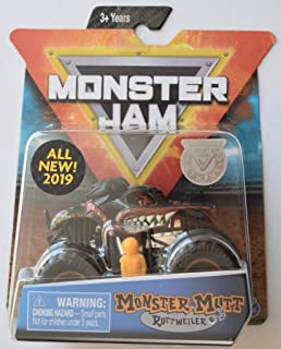 Monster Mutt Rottweiller Monster Jam with Figure & Poster