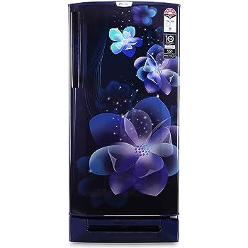Godrej 190 L 5 Star Inverter Direct-Cool Single Door Refrigerator with Base Drawer (RD 1905 PTDI 53 JW BL, Jewel Blue)