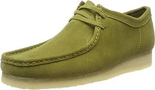 CLARKS Originals Wallabee Dress Shoes 11 D(M) US Khaki Suede