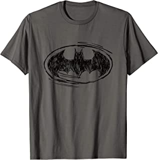 Batman Logo Sketch T-Shirt