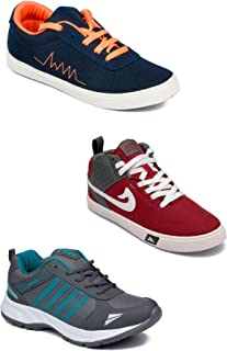 Asian Men's Casual Shoes Combo Pack of 3-0101-M976