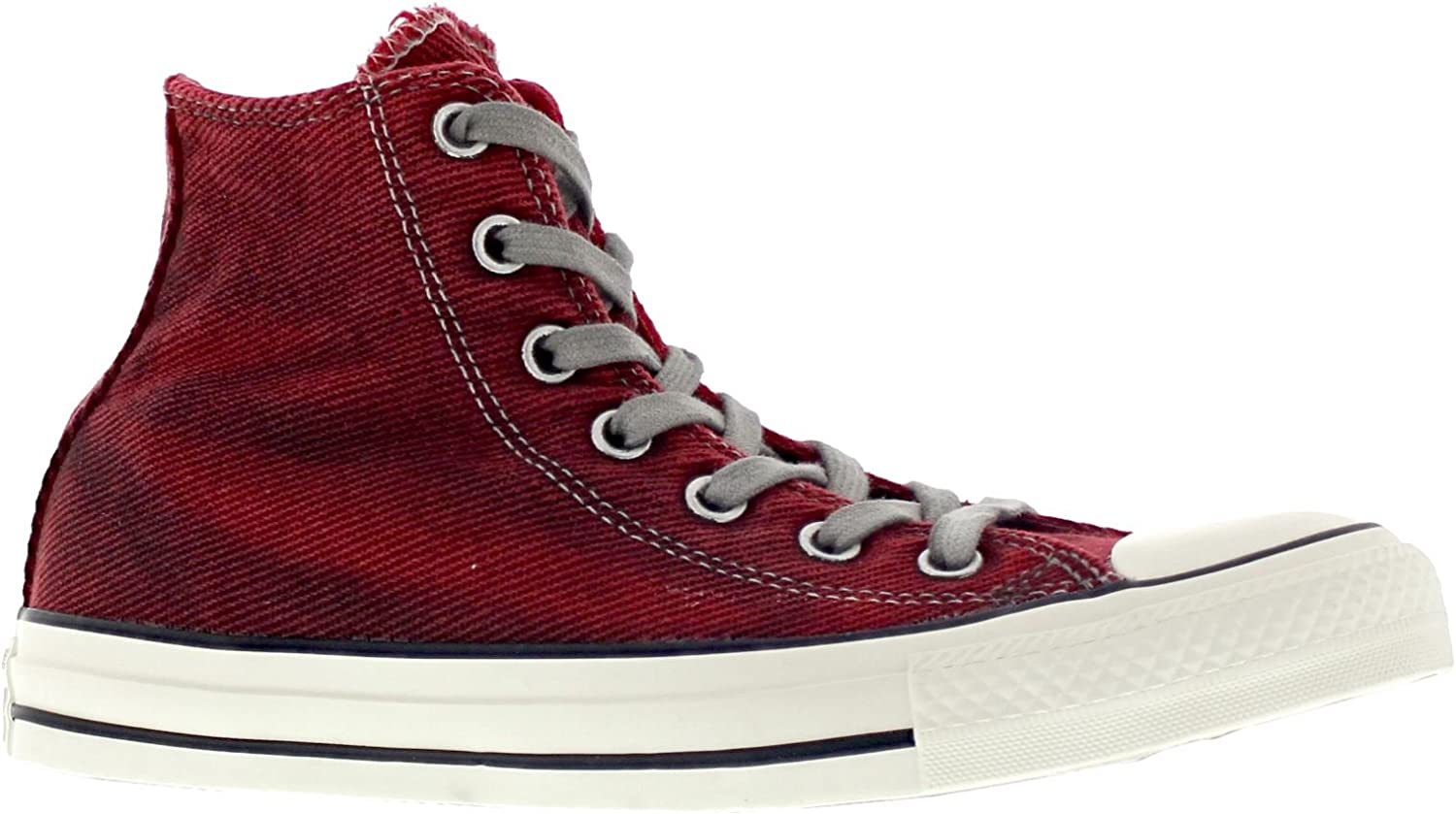 Converse Womens Chuck Taylor Hi Red Textile Trainers 7 US