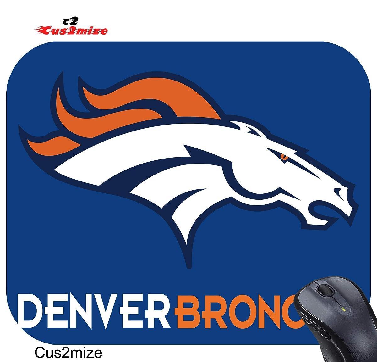 Denver Broncos Mouse Pad Denver Broncos Mousepad, Sold Cus2mize 0719896136983