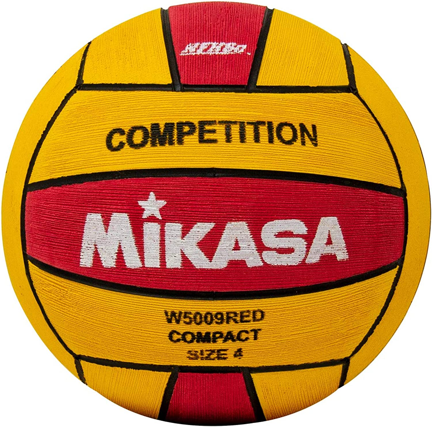 Mikasa Sports Competition Game Ball W5009RED, Red Yellow, Size 4
