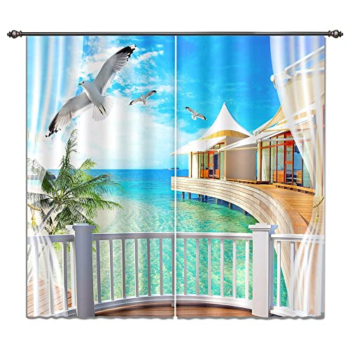 3d Window Curtains Amazon Com