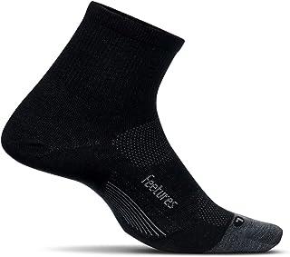 Merino 10 Ultra Light Ultra Light - Calcetines deportivos cortos de lana para hombre y mujer - Color Ceniza - Talla M