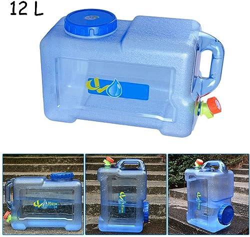 Fort 10 L Camping Bidon eau transporteur avec robinet Poignée /& Vis Couvercle