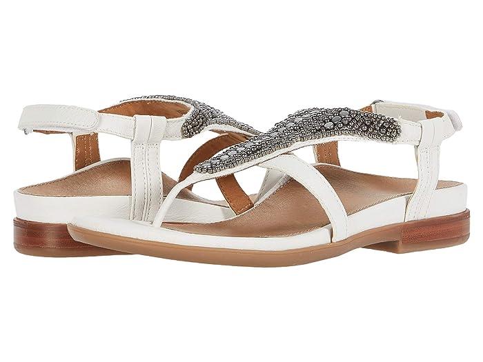 Aetrex  Sheila (White) Womens  Shoes