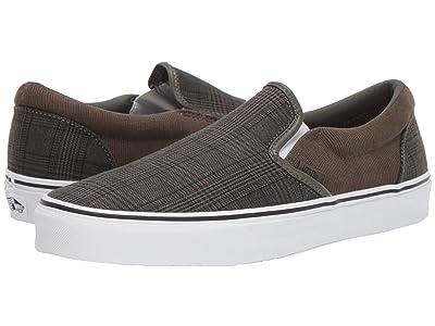 Vans Classic Slip-Ontm ((Suiting) Grape Leaf/True White) Skate Shoes