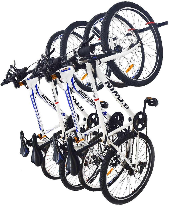 Qualward Bike Wall Mount Storage Rack for Garage & Home Bicycle Hanger  Hanging 4 Bicycles, 2 Pack