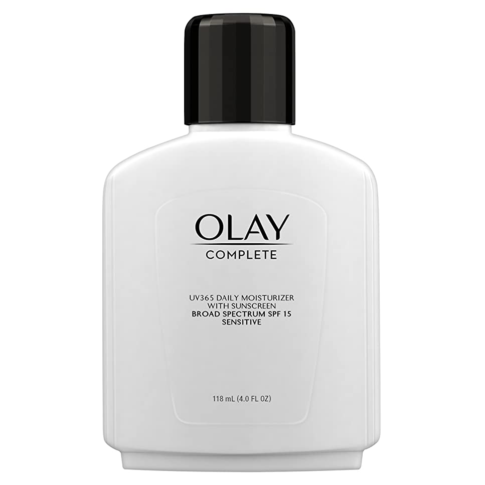俳優ラダレースOlay Complete All Day Moisture Lotion UV Defense SPF 15, Sensitive Skin, 4 fl oz (118 ml) (1 pack) (並行輸入品)