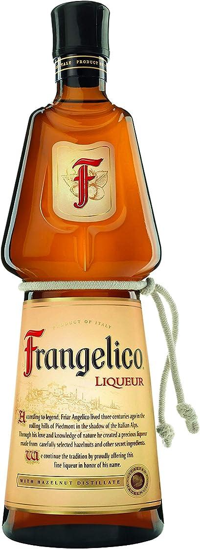 Liquore frangelico a base di nocciole con distillati di semi di cacao, vaniglia e caffe, 20% vol - 70 cl B003XI0N4E