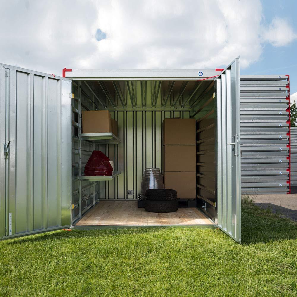 Contenedor de almacenaje, contenedor de chapa, para dispositivos, material, 2,25 m.: Amazon.es: Bricolaje y herramientas