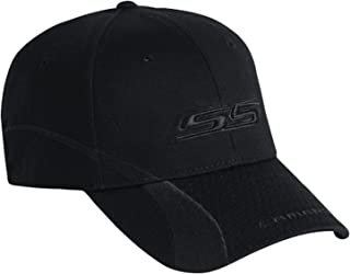 Gregs Automotive Camaro SS Ghost Hat Cap Black - Bundle with Driving Style Decal