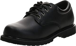 حذاء كوتون وود ايلكس من سكيتشرز للعمل للرجال مقاوم للانزلاق