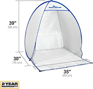 HomeRight Small Spray Shelter C900051 Portable Paint Booth for DIY Spray Painting, Hobby..
