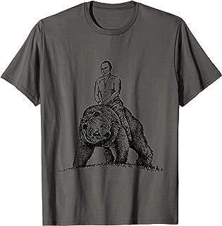 Putin Riding a Bear T-shirt | Russia Tee T-Shirt
