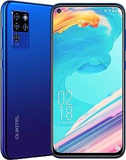 OUKITEL C21 Unlocked Phone, Android 10 Cell Phone 20MP Selfie Smartphone Dual Sim Helio P60 6.4'' FHD+ Octa Core 64GB/4GB ...