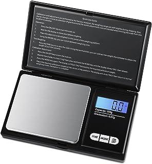 Brifit Balance de Precision 0.01g, 200g/0.01g, Balance de Poche avec Écran LCD, Petite Balance de Bijoux, Balance de Cuisi...