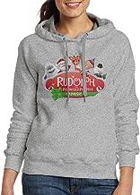 ITMEIAL Women's Rudolph The Red-Nosed Reindeer Hoodies