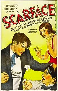 Posterazzi Scarface from Left: Paul Muni Ann Dvorak 1932. Movie Masterprint Poster Print (11 x 17)