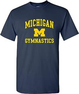 NCAA Arch Logo Gymnastics, Team Color T Shirt, College, University