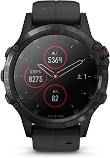 GARMIN(ガーミン) fenix 5 Plus Sapphire Black 音楽再生機能 マルチスポーツ型GPSウォッチ 最大10日間稼働 【日本正規品】